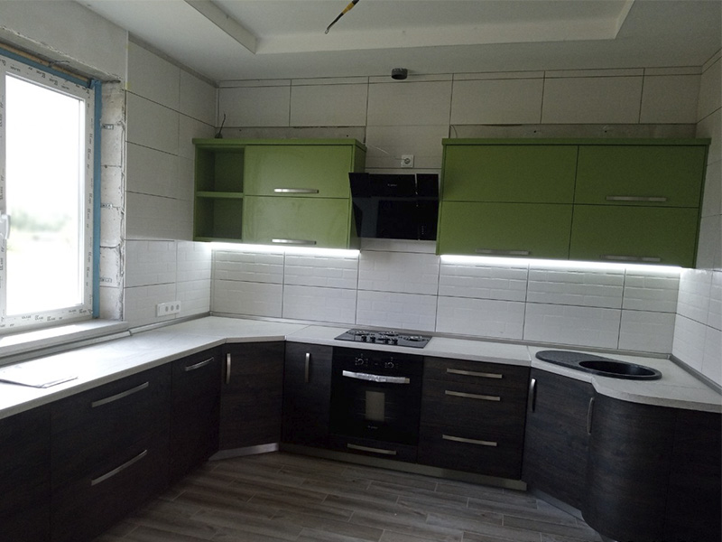 Кухня из ЛДСП 2