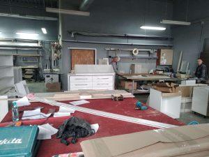Процесс изготовление мебели