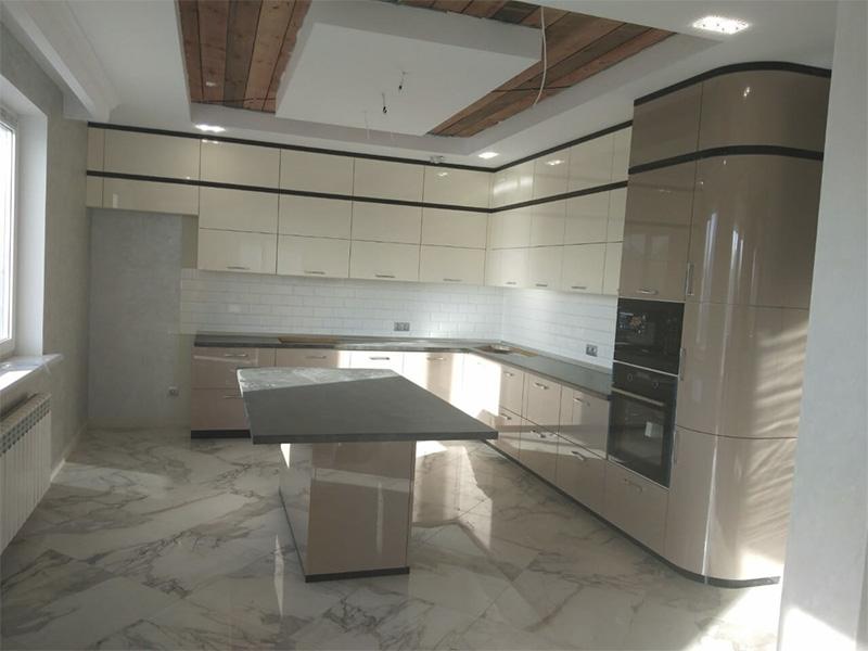 Кухня из пластика 10
