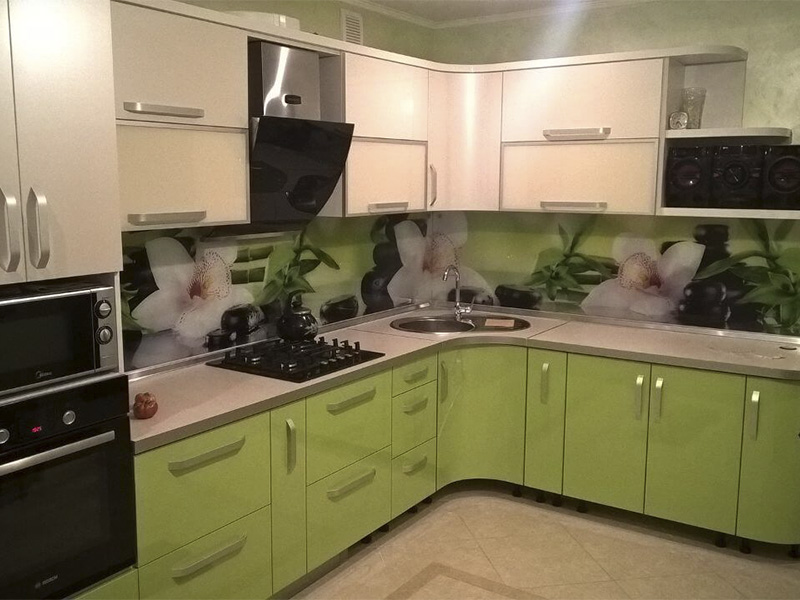 Кухня из пластика 3