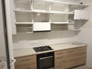 Кухня прямая 4