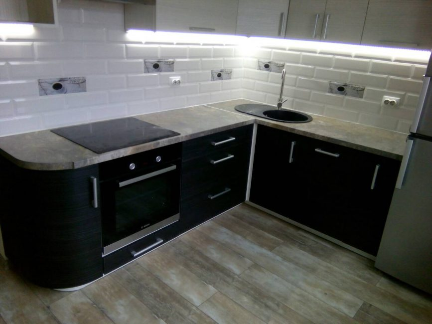 Угловая кухня под заказ 5