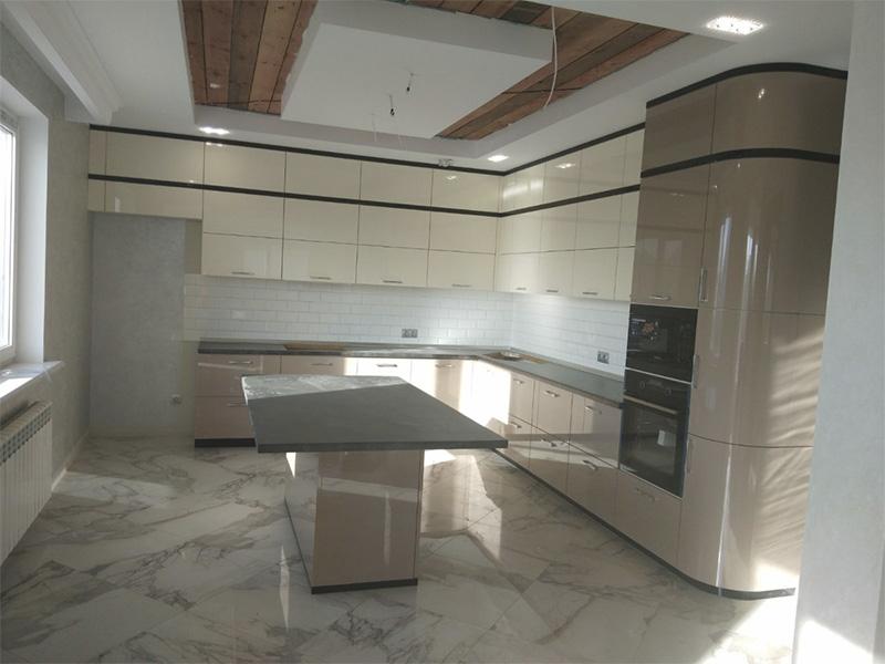 Угловая кухня под заказ 7