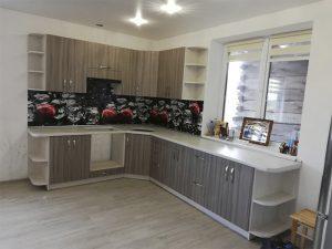 Угловая кухня под заказ 8