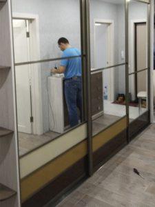 Шкаф купе в коридор2